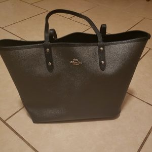 Authentic Coach reversible tote
